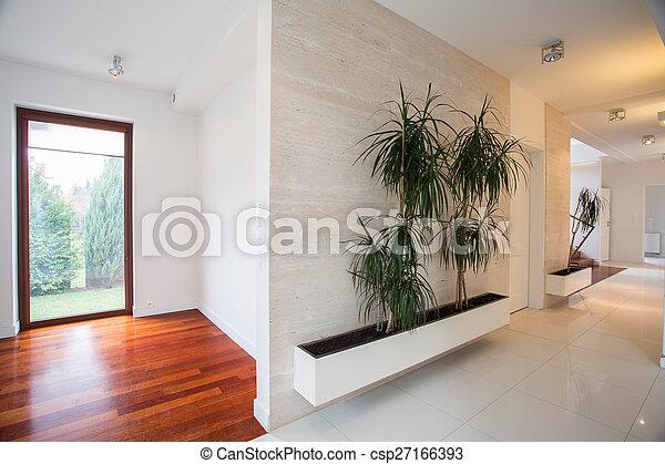 住处, 明亮, 现代, 大厅 - csp27166393