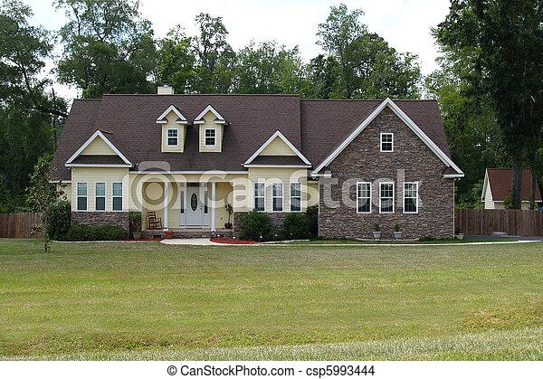 住宅の, 家 - csp5993444