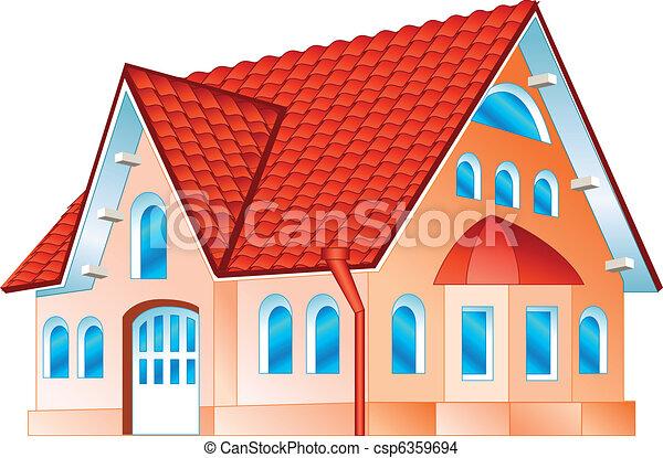 住宅, 私用 - csp6359694