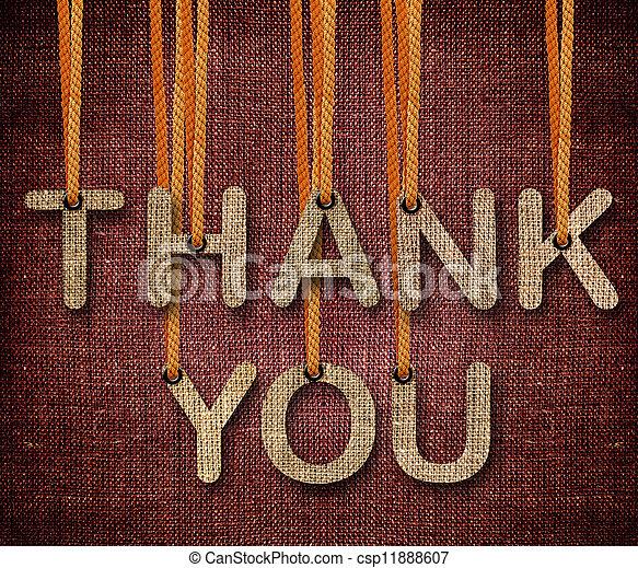 你, 感謝 - csp11888607
