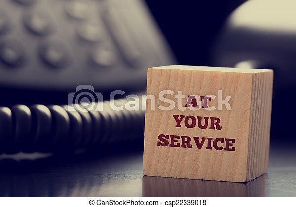 你, 服務 - csp22339018