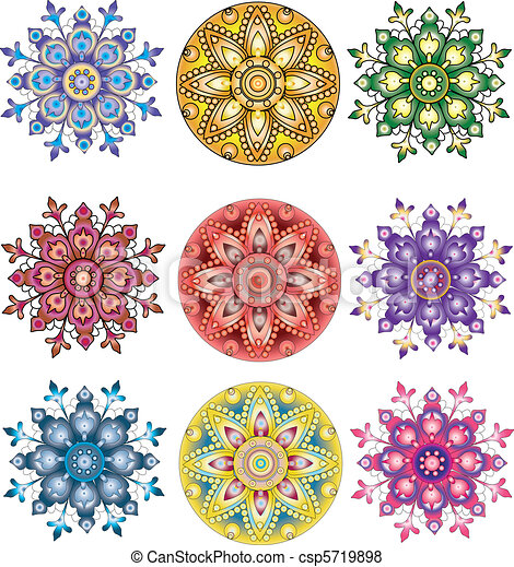 佩兹利涡旋纹花呢, ornament., 印度, seamless - csp5719898