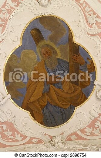 使徒, アンドリュー, 聖者 - csp12898754