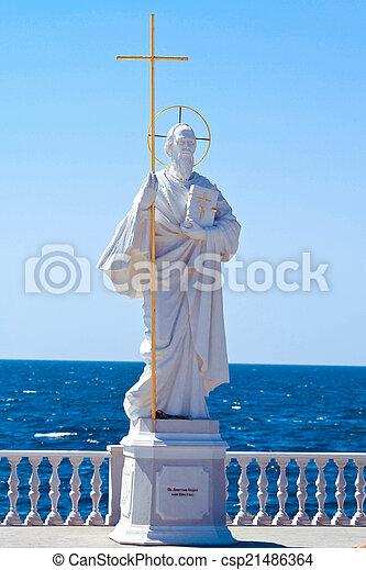 使徒, 記念碑, andrey, pervozvanny - csp21486364