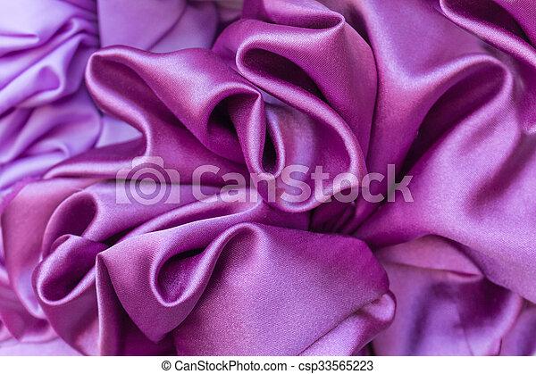 使用, 紫色, 滑らかである, 優雅である, 缶, 背景, 絹 - csp33565223