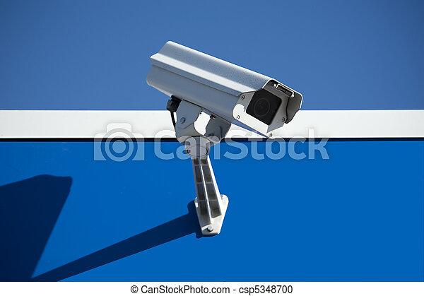 保安用カメラ - csp5348700