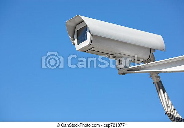 保安用カメラ - csp7218771