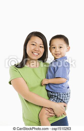 保有物, son., 母 - csp1510263