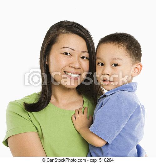 保有物, son., 母 - csp1510264