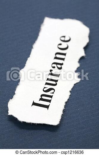 保険 - csp1216636
