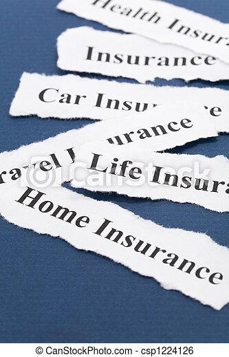 保険 - csp1224126