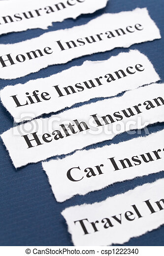 保険 - csp1222340