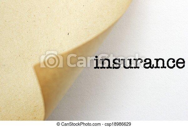 保険 - csp18986629