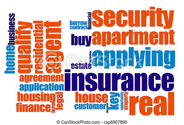 保険 - csp6907890