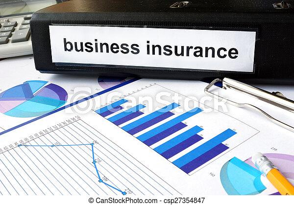 保険, ビジネス - csp27354847