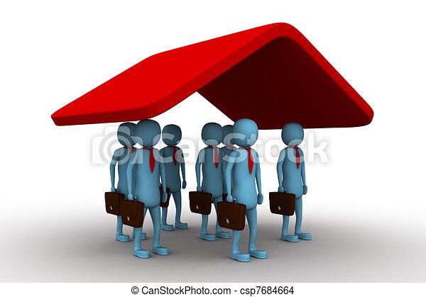 保険, ビジネス - csp7684664