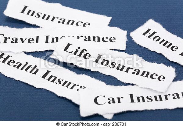 保険 - csp1236701