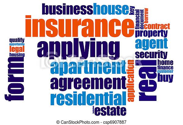 保険 - csp6907887