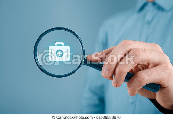 保険, 医学 - csp36588676
