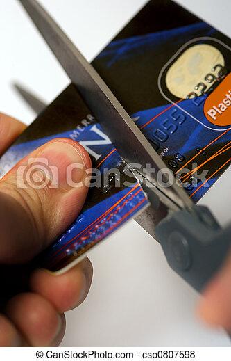 信用, 傷口, 你, 卡片 - csp0807598