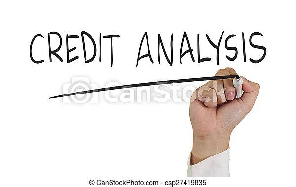 信用, 分析 - csp27419835