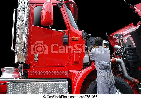 修理, トラック - csp2751058