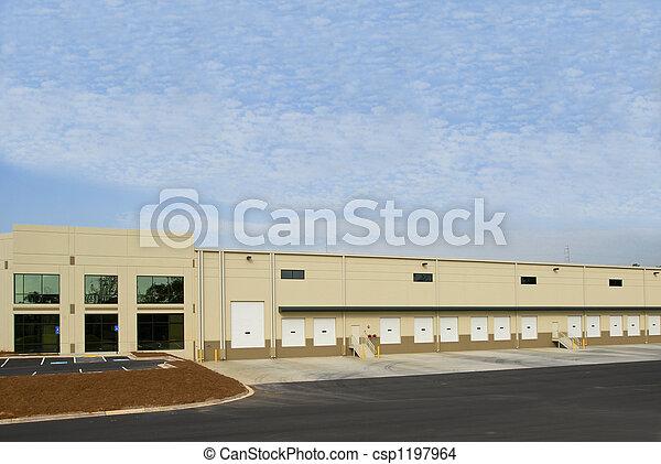 倉庫, コマーシャル - csp1197964
