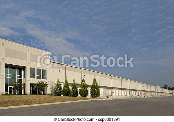倉庫, コマーシャル - csp0801391