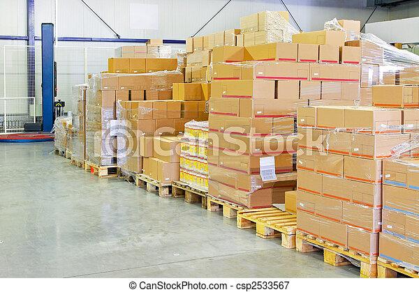 倉庫, パッケージ - csp2533567
