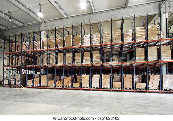 倉庫, パレット - csp1623102