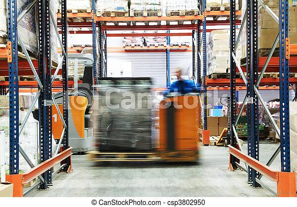 倉庫, 仕事, トラック - csp3802950