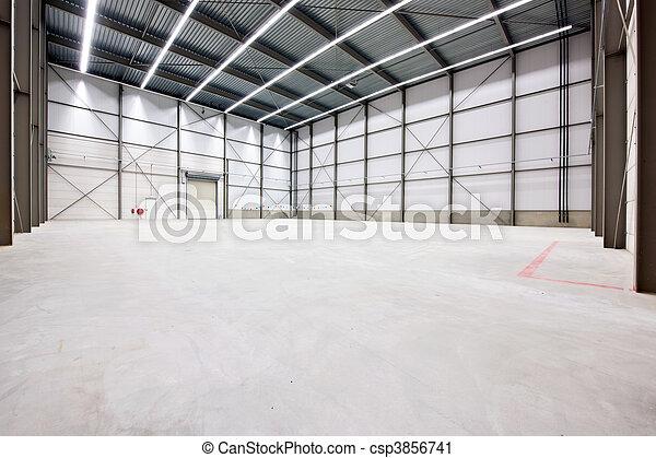 倉庫, 内部 - csp3856741