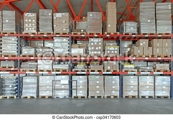 倉庫, 分配 - csp34170603