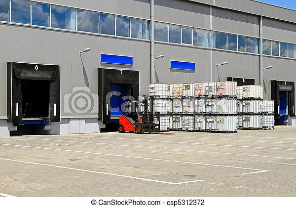 倉庫, 分配 - csp5312372