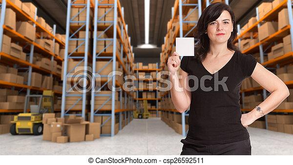 倉庫, 分配, メッセージ - csp26592511