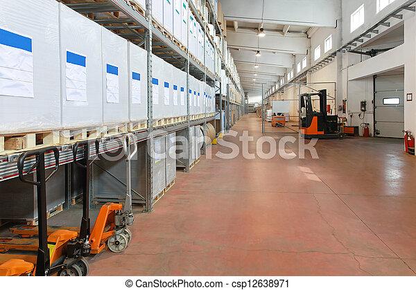 倉庫, 分配 - csp12638971