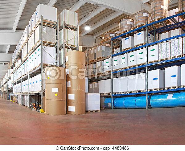 倉庫, 分配 - csp14483486