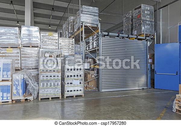 倉庫, 分配 - csp17957280