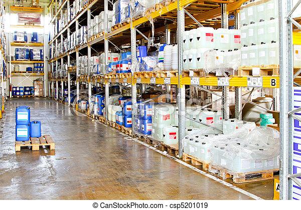 倉庫, 化学物質 - csp5201019