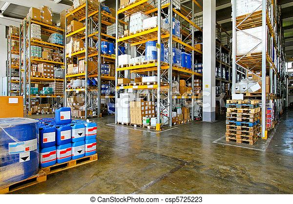 倉庫, 化学物質 - csp5725223