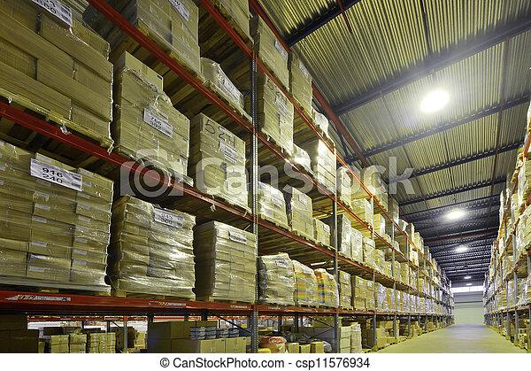 倉庫, 屋内 - csp11576934