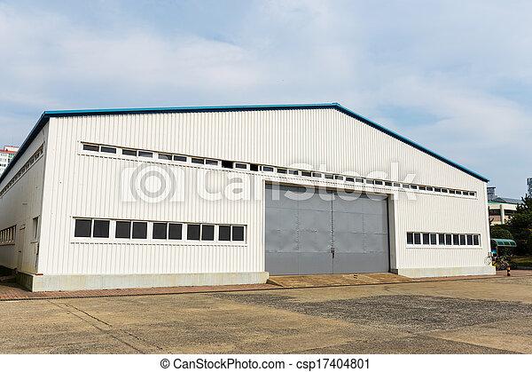 倉庫, 屋外 - csp17404801