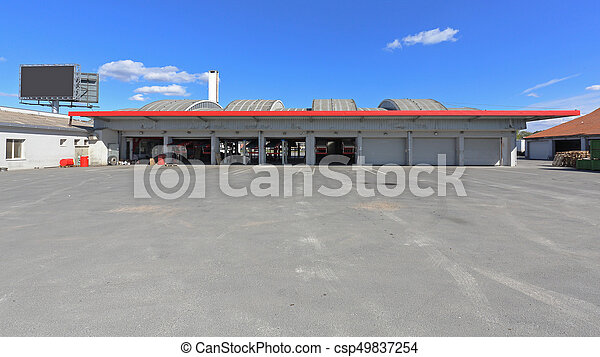 倉庫, 建物 - csp49837254