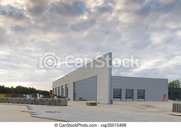 倉庫, 産業 - csp35015499