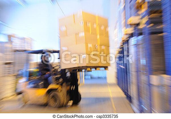 倉庫, 積込み機 - csp3335735