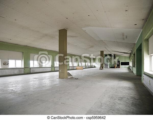 倉庫, 空 - csp5959642