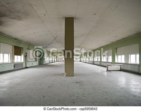 倉庫, 空 - csp5959643