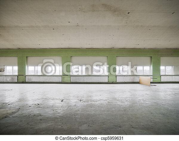 倉庫, 空 - csp5959631