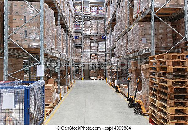 倉庫, 貯蔵 - csp14999884