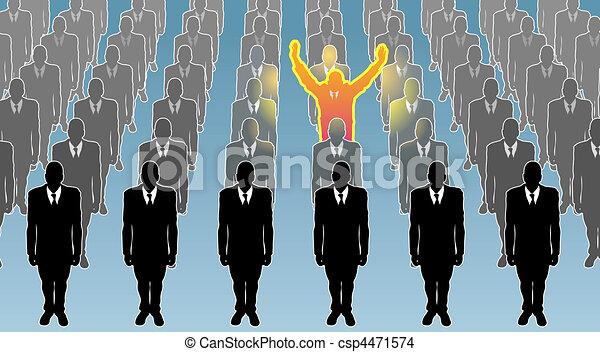 個人, イラスト, 概念, ビジネス - csp4471574
